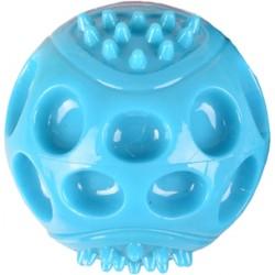 Pelota goma wido azul con sonido 7cm