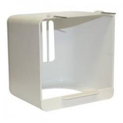 Portanido exterior cabina plastico blanca