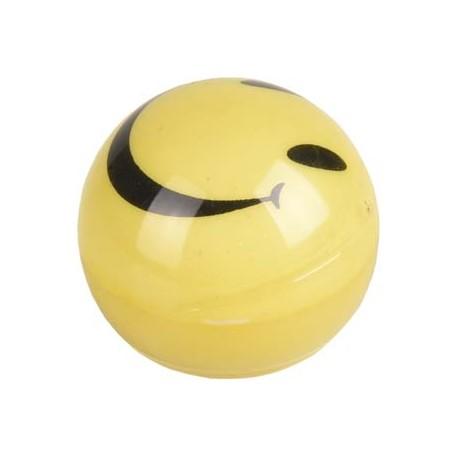 Bola wobbler smiley con luz 4.5cm