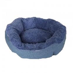 Cuna redonda eco azul 54cm nº10