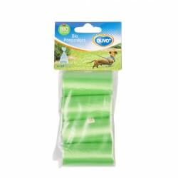 Recogedor higienico recambio 4x20 bolsas biodegradables
