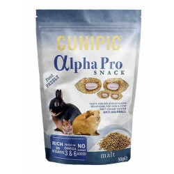 Cunipic alphapro snack roedor malta 50gr