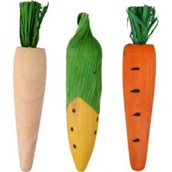 Madera para roer vikas zanahoria (3) 10cm