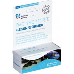 Aquarium munster dactymor 20ml para 400L (lombrices)