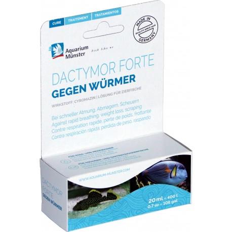 Aquarium munster dactymor 20ml para 400L (lombrices)