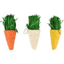 Juguete roedor zanahoria legou (3) 9cm