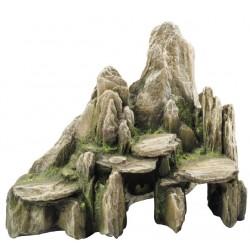 Roca stone with moss 25.5x15.5x20cm