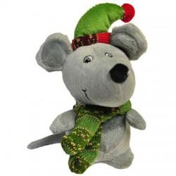Navidad peluche ratón 19cm