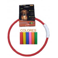 Collar led 70cm max. colores surtidos