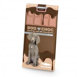 Tableta chocolate dog choc salmón 100gr