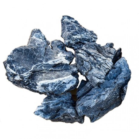 Roca natural  seiryu black precio/kilo
