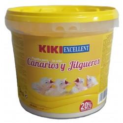 Kiki papilla canarios y jilgueros 3kg excellent