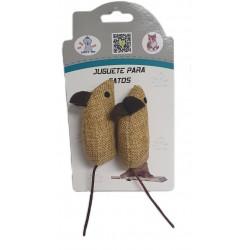 Ratón gato tela saco (2)