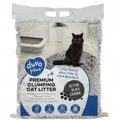 Arena gato premium 12kg bentonita+carbon activo