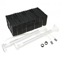 Filtro fondo 119x30cm modular+2 impulsores  boyu