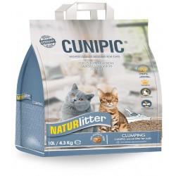Cunipic Naturlitter madera aglomerante gato 10l 4.3k