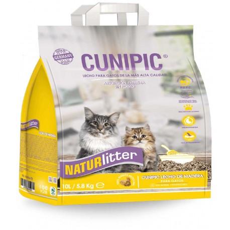 Cunipic Naturlitter madera pellets gato 10l 5.8k
