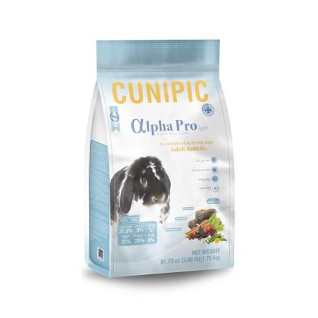 Cunipic Alphapro conejo light senior/esteriliz 1.75kg