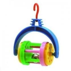 Juguete periquito roller c/cascabel