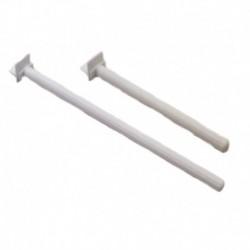 Palo plast+soporte 16cm (x30)