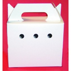 Transportin carton peq agujero+puerta (x80)