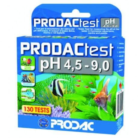 Prodac test ph agua dulce-marina