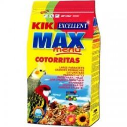 Kiki max cotorrita, ninfa, agapornis 500g